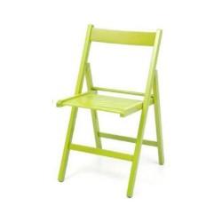 Sedia pieghevole in legno Penelope verde