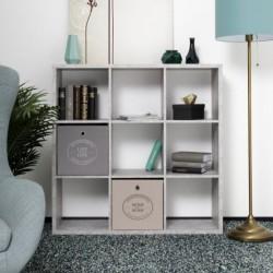 Libreria divisorio Max9 beton