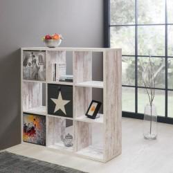 Libreria divisorio Max9 bianco consumato