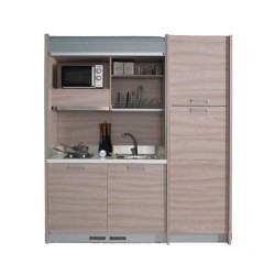 Mini cucina monoblocco Street 188 con serrandina
