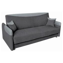 Divano bicolore grigio chiaro scuro funzione letto Parma