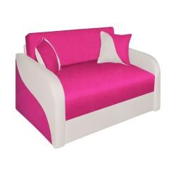 Divano letto 132 cm Arto rosa grigio