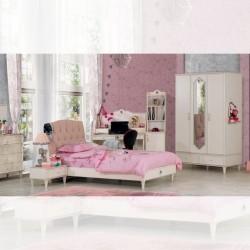 Cameretta Venusteen crema e rosa