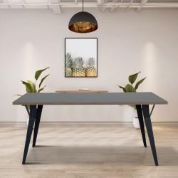Tavolo da pranzo 160x80 cm cacao Yutan