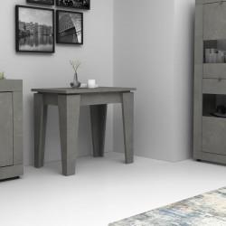 Consolle allungabile cemento 50x90 cm Natron