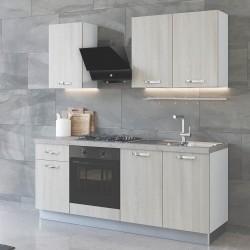 Cucina 195 cm Aura Lusso con elettrodomestici