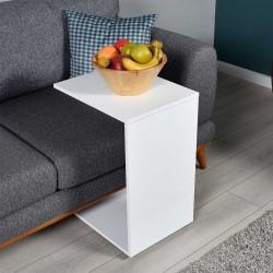 Tavolino per divano porta pc bianco lucido SHP109PP1