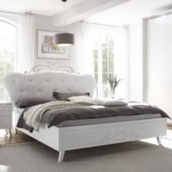 Pamuk letto in legno bianco