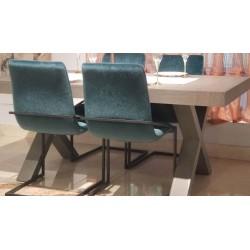 Gondar tavolo allungabile 180x100 rovere grafite