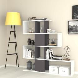 Libreria bifacciale 145x145x29 cm. Aktif bianco ghisa