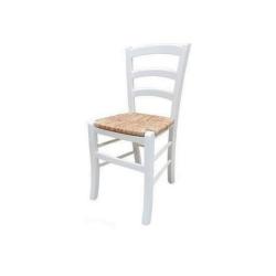 Sedia bianca in paglia  Gorizia