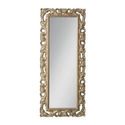 Specchiera 80x200 cm. foglia oro Anna