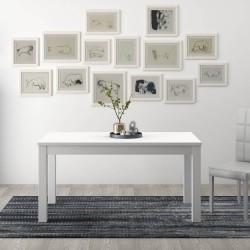 Tavolo allungabile 140x85 bianco frassinato FIRENZE