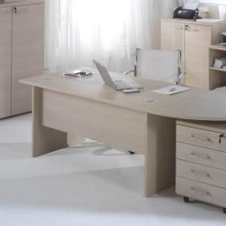Scrivania per ufficio 160x80 cm Larix larice beige