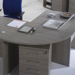 Raccordo angolare scrivania Larix rovere grigio