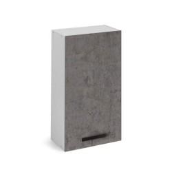 Pensile cucina 40x32x72H cm. con anta cemento