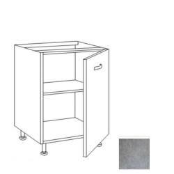 Base cucina 60x60x82H cm cemento