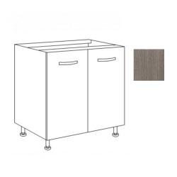 Base cucina 80x50x85H due ante larice grigio
