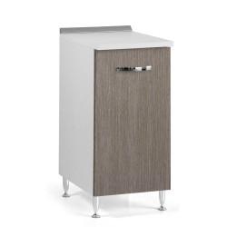 Base cucina con anta 40x50x85H larice grigio
