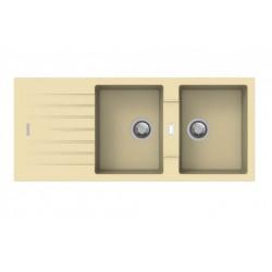 Lavello 116x50 2v PTPL1162 Granito Avena Apell