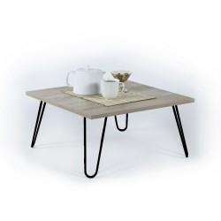Tavolino da salotto rettangolare rovere Ilia 60x60 MT1904021