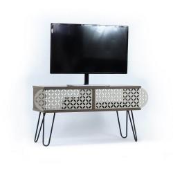 Porta TV noce Ilia 106x30x48H MT190111