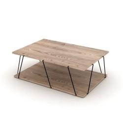 Tavolino da salotto Tars rovere 90x60x31h RF1603241