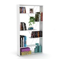 Libreria bianca Tars 84x24x157H RF1603242