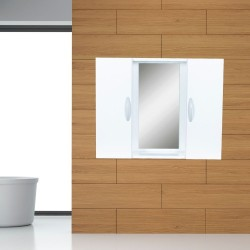 Mobile bagno con specchio e due ante 73x14x60H 8010