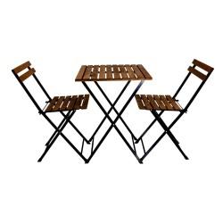 Tavolo con sedie pieghevoli Bistrot p76