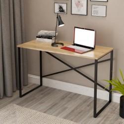 Scrivania metallo e legno rovere sonoma Desk p789