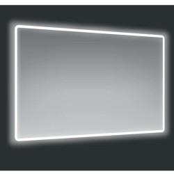 Specchio 120x70 cm. con cornice LED Victoria